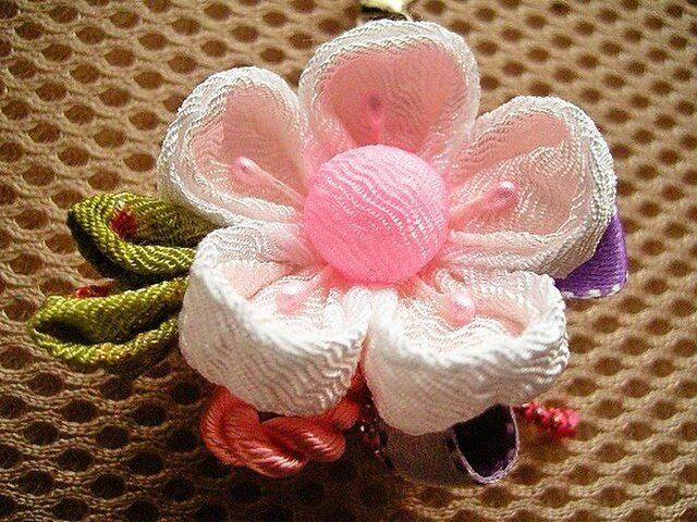 桜の花のチャーム(祝の桜A)の画像1枚目