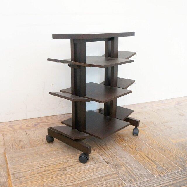 【送料無料】ムービングブックテーブルの画像1枚目