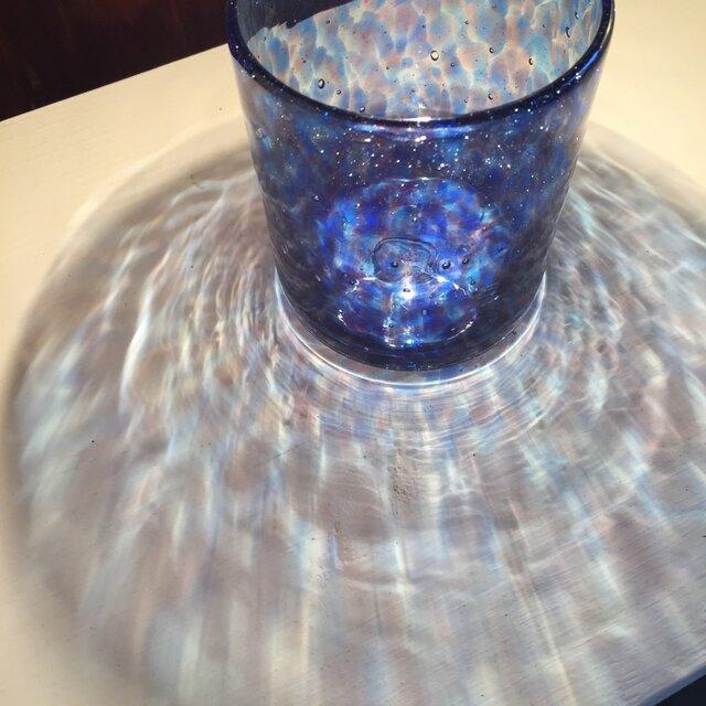 水面ロックglass  ラピスラズリの画像1枚目
