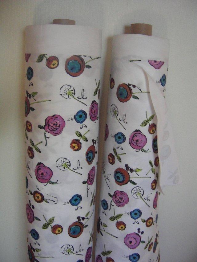 オリジナルファブリック old Rose(オールドローズ) 大 #auxld fabric  #オウルドファブリックの画像1枚目