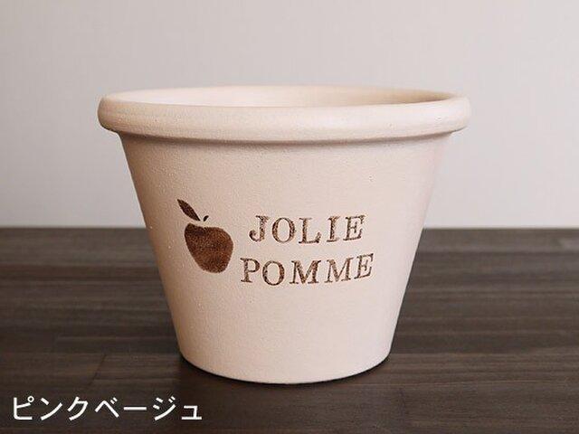 植木鉢(テラコッタ)Mサイズ 002 ピンクベージュの画像1枚目