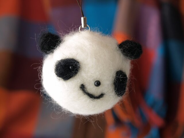 フェルトあにまる(パンダ)の画像1枚目