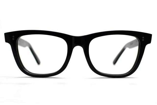 【男性向けサイズ】大きめセルロイド眼鏡067-BBの画像1枚目