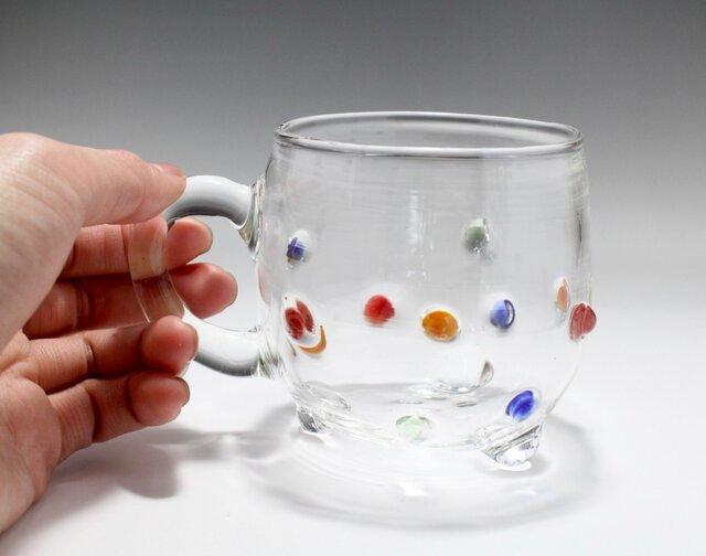 ガラスカップ(取っ手部分ストレート)の画像1枚目
