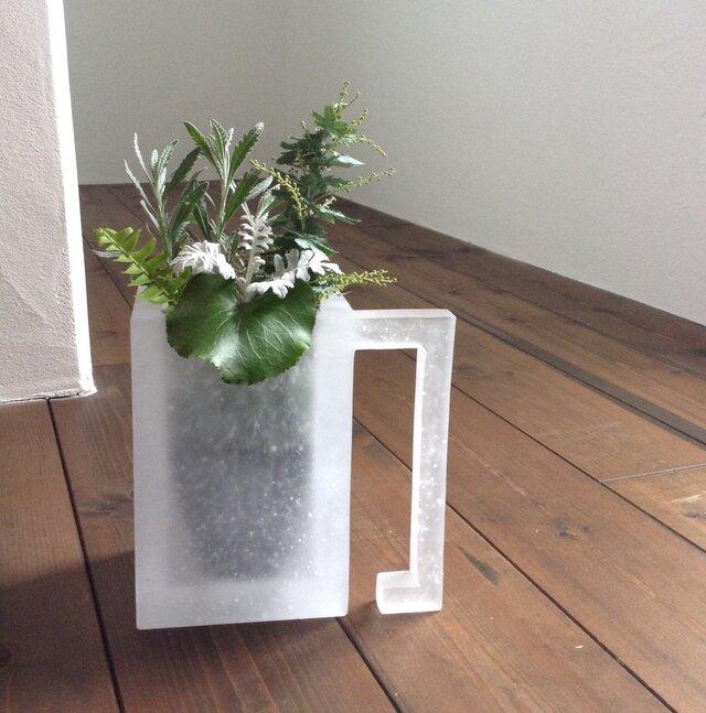 機能するオブジェ『ガラスの植木鉢』の画像1枚目