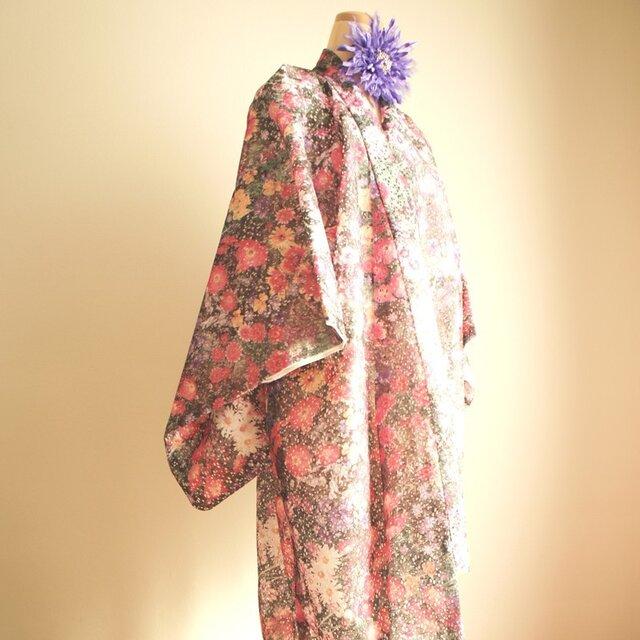 kimono D/#フラワーラッセルレース C/#PKの画像1枚目