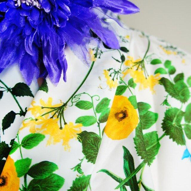 kimono D/#植物図鑑 C/#YEの画像1枚目