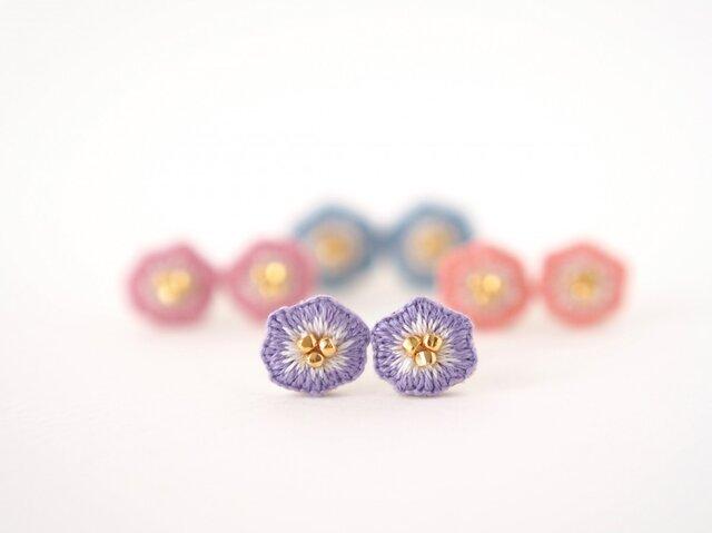 little flower pierce No.03の画像1枚目