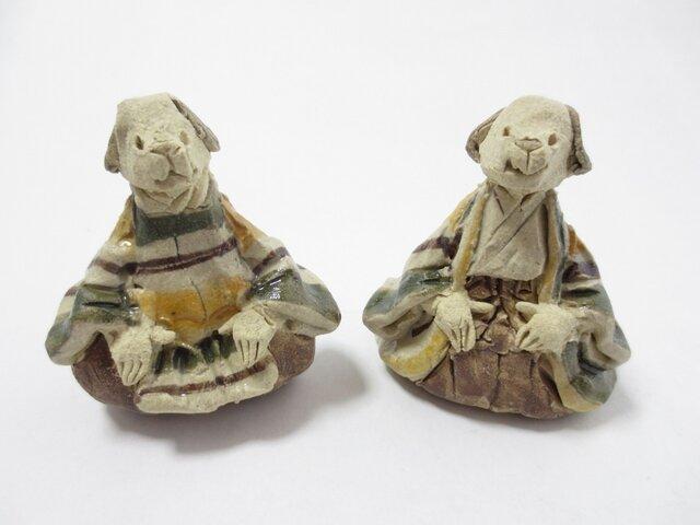 ちび雛人形 -いぬ-の画像1枚目