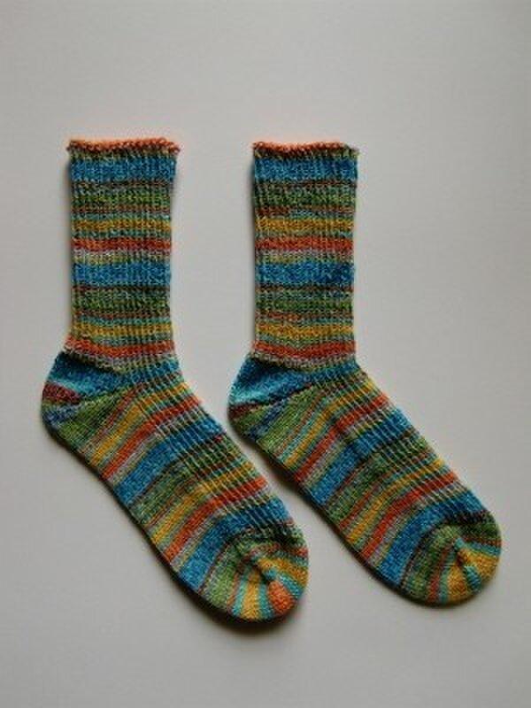手編み靴下【OPAL  熱帯雨林11  8973】の画像1枚目