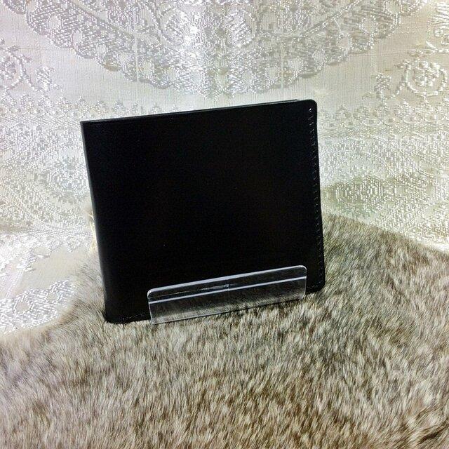 コードバン「二つ折り財布」の画像1枚目