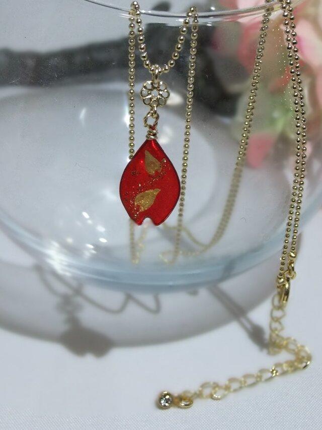 桜のネックレス 「明け桜」の画像1枚目