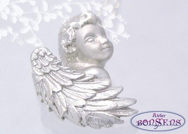 愛らしい天使 Silver925 シルバー エンジェル ペンダントの画像1枚目