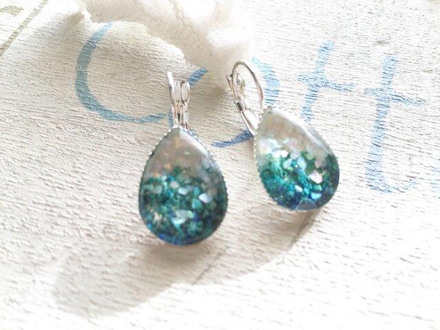 White Sand Beach earringsの画像1枚目