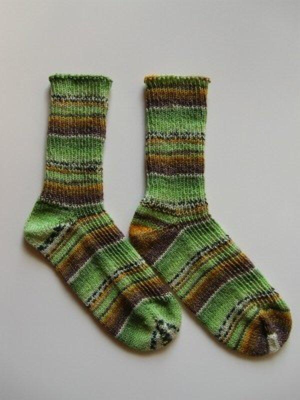 手編み靴下【スウィート&スパイシー3  9124】の画像1枚目
