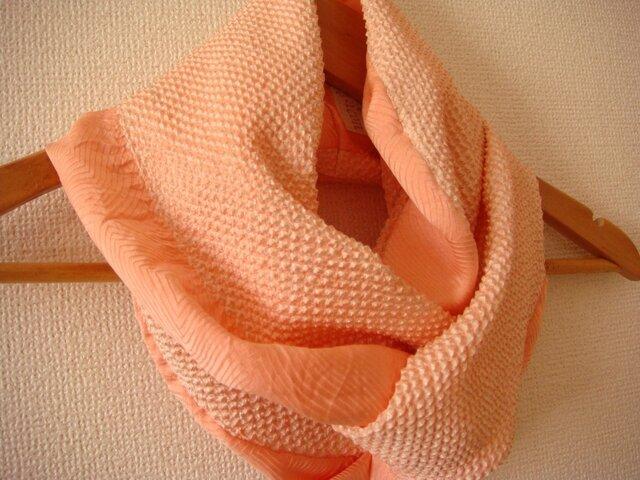 サマーセール 春色スヌード 絞りの羽織より 壱の画像1枚目