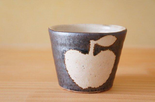 T様専用画面黒りんごの台形ボウル 三点セット。の画像1枚目