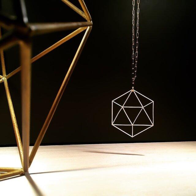 ペーパーネックレス Paper necklace 14kgf 0001 WHITE NEC14G-0001Wの画像1枚目