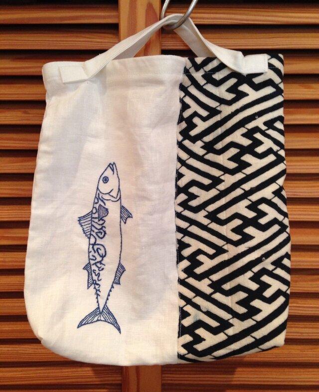 おつかいバッグ・魚の画像1枚目