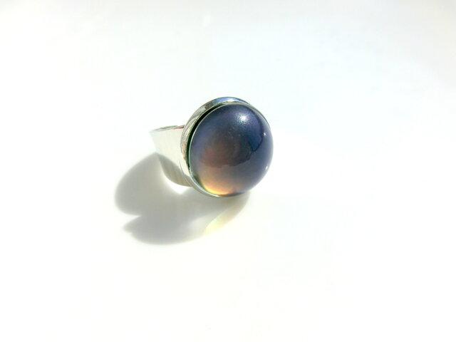 color ring -silver-の画像1枚目