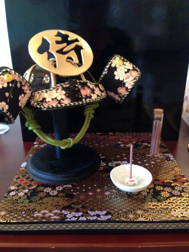お香兜(おこうかぶと)ー桜ーさくらの画像1枚目