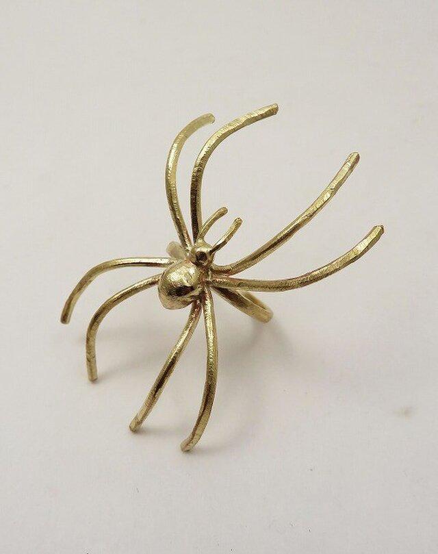 「蜘蛛」リングの画像1枚目