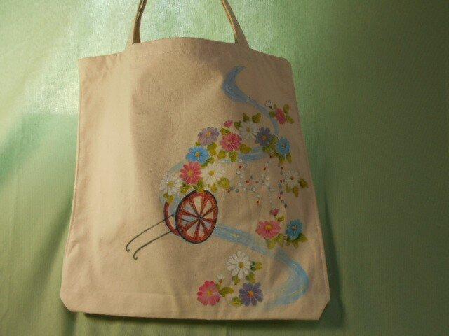 花車(手描きバッグ)の画像1枚目