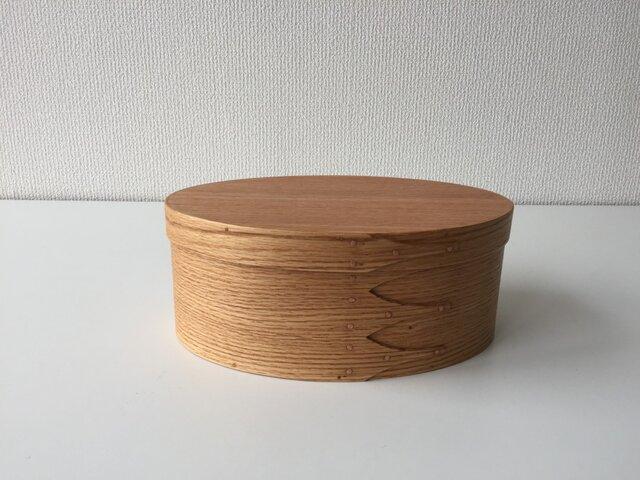 Shaker Oval Box #5 - レッドオークの画像1枚目