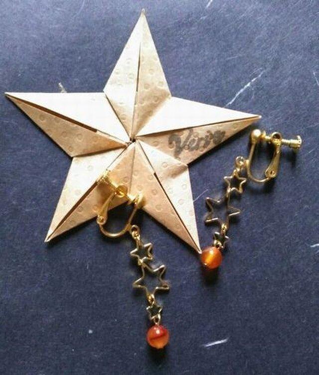 CARNELIAN earringsの画像1枚目
