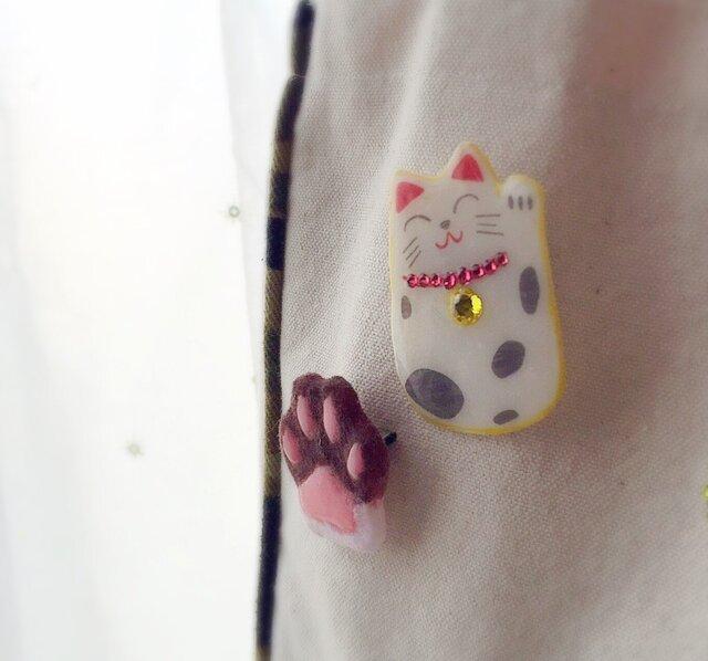 まねきネコさん*鈴の画像1枚目
