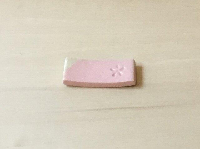 桜色の箸置き(印花)の画像1枚目