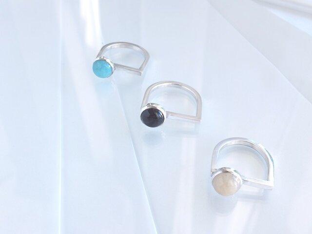 Small Ring (Onyx)の画像1枚目