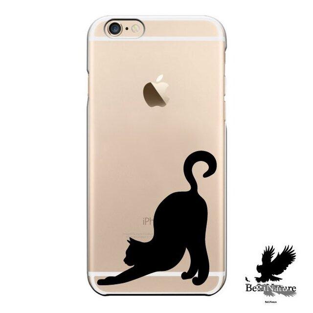 iPhone5/5s/5c/6/6s/6Plus/6sPlus ケース ネコ が大好きな方々とっての最高ケースの画像1枚目