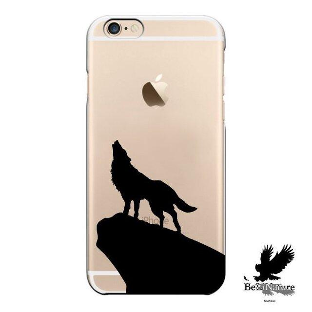 iPhone5/5s/5c/6/6s/6Plus/6sPlus ケース オオカミ が大好きな方々とっての最高ケースの画像1枚目
