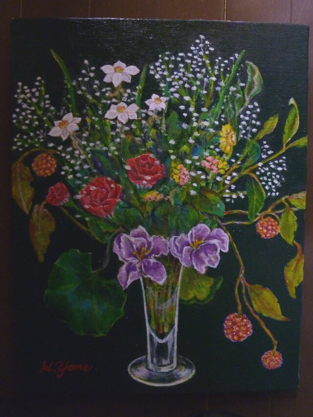 さねかずらのある花の画像1枚目