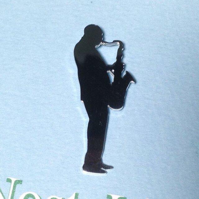 Coltrane-1961-pin シルバーピンブローチの画像1枚目