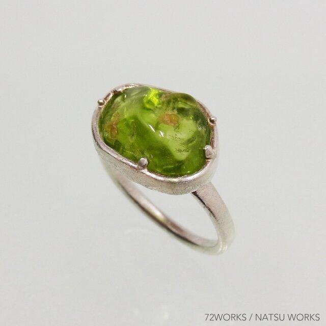 Peridot Ring ③ ペリドットの画像1枚目