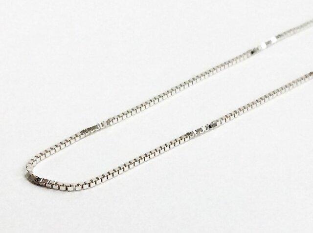 別売SV925チェーンNo.2:ベネチアン【Pio by Parakee】silver venetian chainの画像1枚目