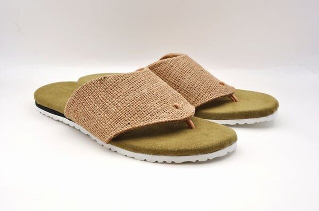#Tokuyama Shoes:『jute sandals』の画像1枚目