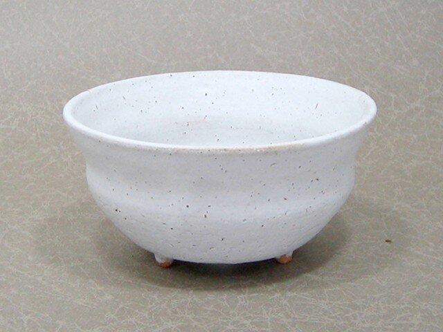 白マット 段小植木鉢の画像1枚目