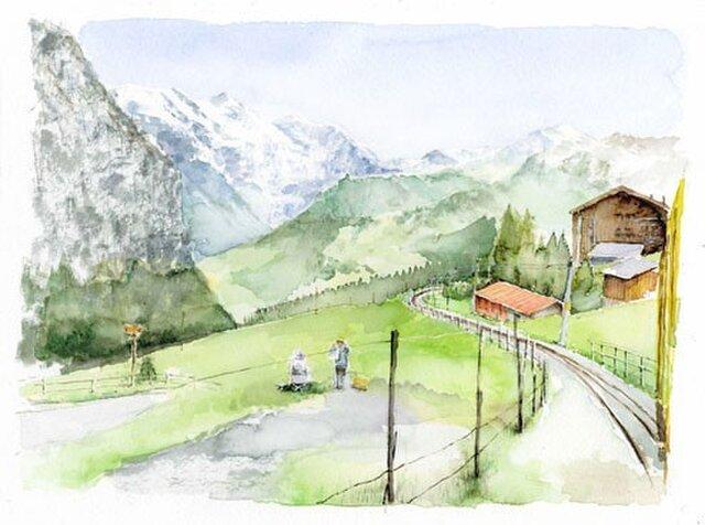 スイスの風景の画像1枚目