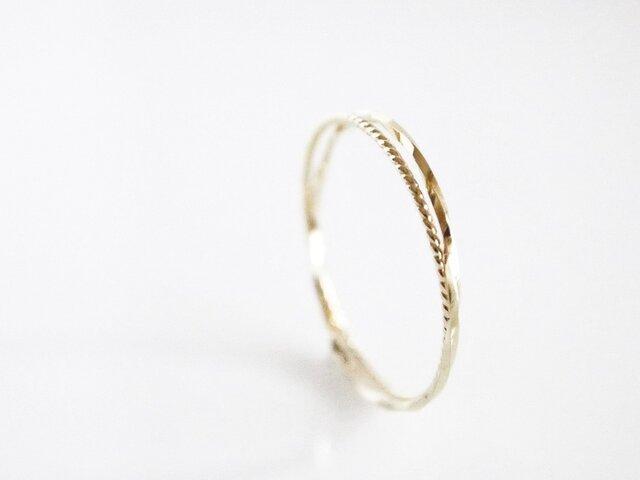 K10 Double Twist Ringの画像1枚目