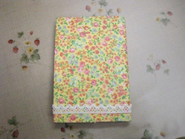 花柄レースのカバー カードケース(Y)の画像1枚目