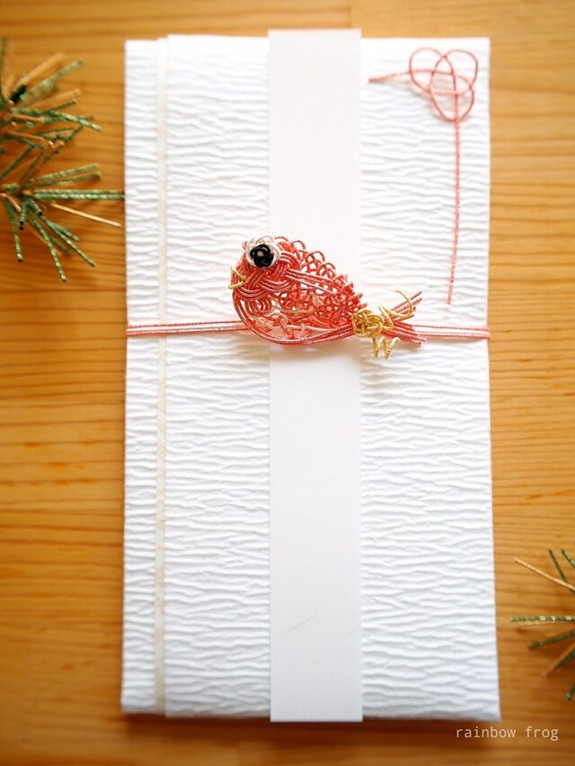 ご祝儀袋 鯛(ピンク)の画像1枚目