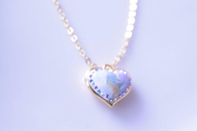 petit-heart necklaceの画像1枚目