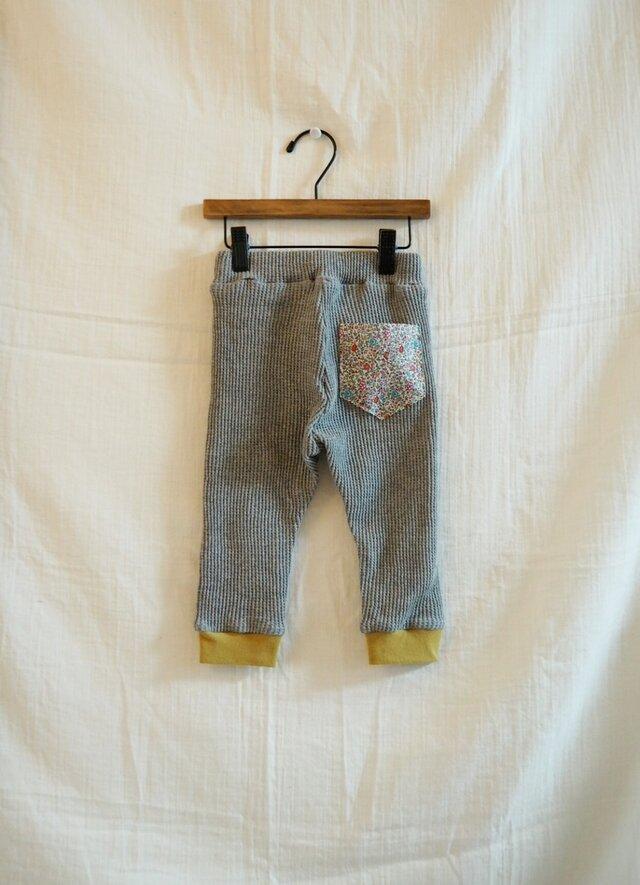 《ベビー》リバティポケットパンツ  80サイズの画像1枚目