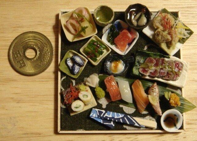 ★まぐろステーキ&握り寿司の画像1枚目