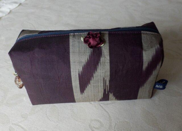 紫銘仙のポーチの画像1枚目