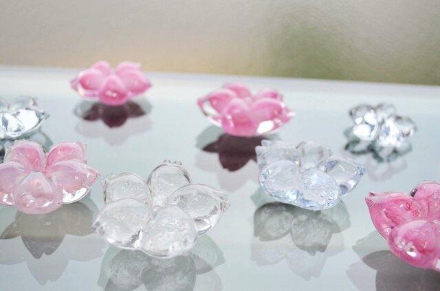 ガラスの桜はしおき   色づく前の透明の画像1枚目