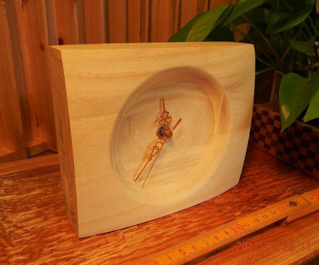木の時計トールペイント用 T-1の画像1枚目